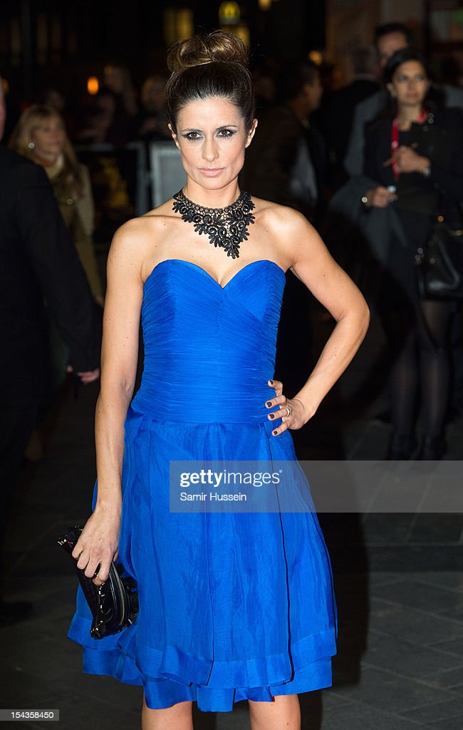 Livia Giuggiol attends the Premiere of 'Crossfire Hurricane' during the 56th BFI London Film Festival at Odeon Leicester Square on October 18, 2012 in London, England.