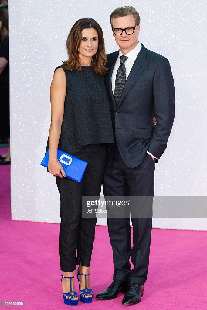 Livia Giuggioli and Colin Firth arrive for the World premiere of 'Bridget Jones's Baby' at Odeon Leicester Square on September 5, 2016 in London, England.
