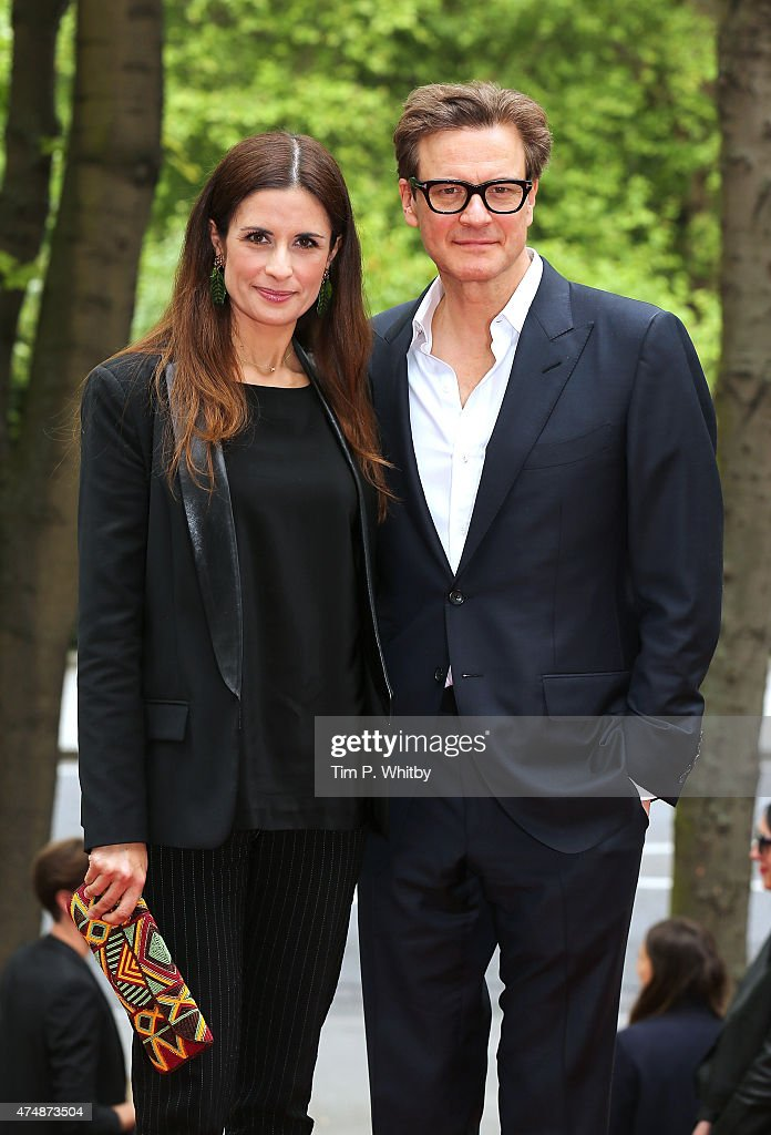 Livia Giuggioli and Colin Firth attend the UK Film premiere of 'The True Cost' at Curzon Bloomsbury on May 27 2015 in London England