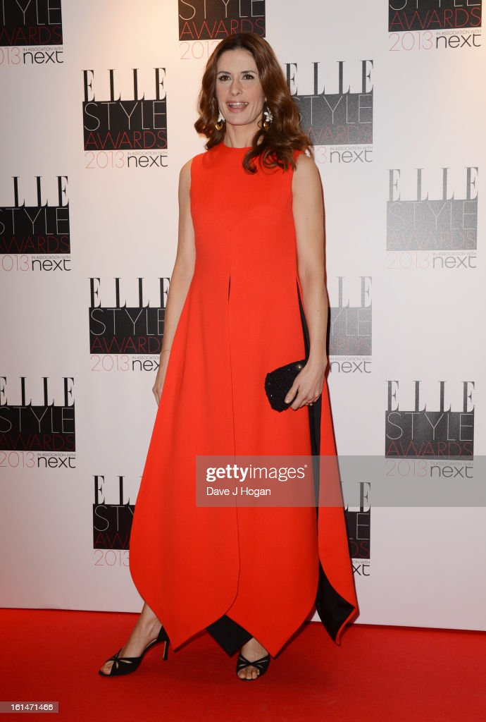 Livia Giuggioli attends The Elle Style Awards 2013 at The Savoy Hotel on February 11, 2013 in London, England.