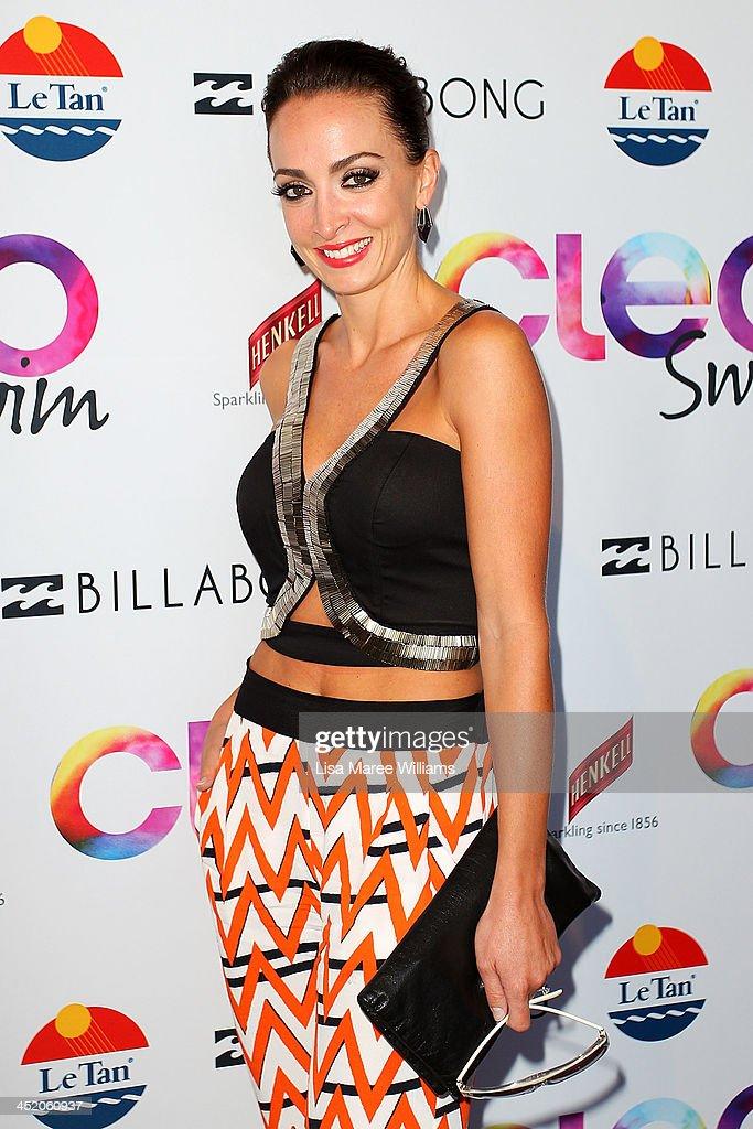 Livia Tassanyi arrives at the 2013 CLEO Swim Party at The Bucket List on November 26, 2013 in Sydney, Australia.