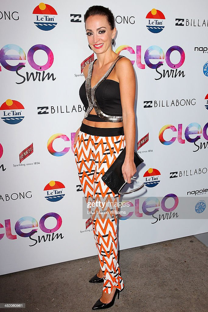 Livia Tassanyi arrives at the 2013 CLEO Swim Party at The Bucket List on November 26, 2013 in Sydney, Australia.