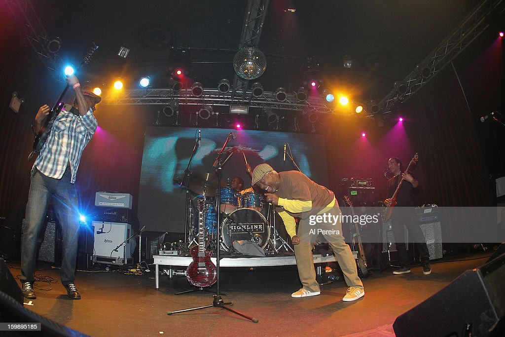 Living Colour performs during The Million Man Mosh II at the Highline Ballroom on January 21, 2013 in New York City.