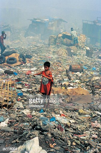 Living from waste on Smokey Mountain,Manila,Philippines