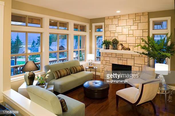 Salle de séjour de luxe