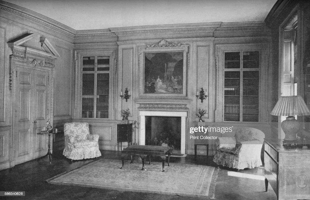 Living Room House Of Mrs Arthur Ryerson Chicago Illinois 1922 Emily