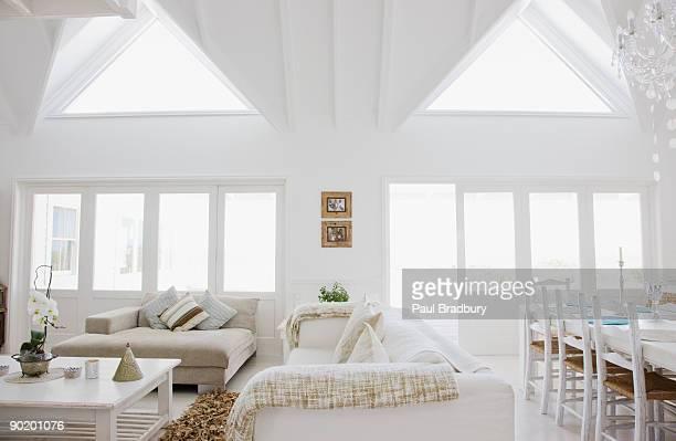 Living room in modern home