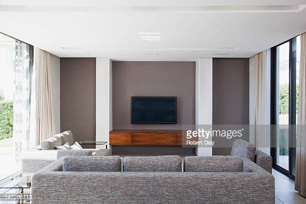 Living room in modern house