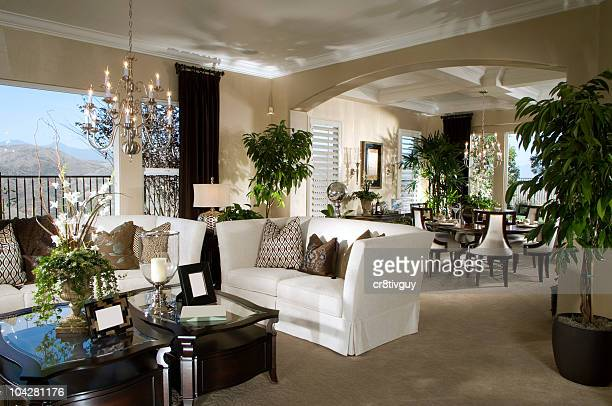 Sala de estar, diseño de interiores casa