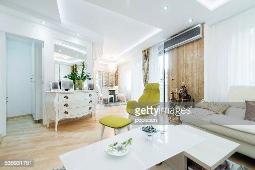 Living room interior : Stock Photo