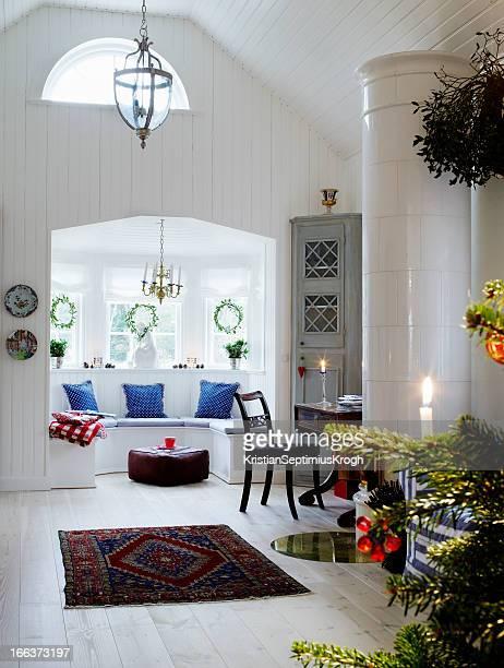 Noel scandinave photos et images de collection getty images for Table sejour scandinave