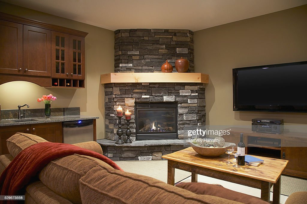 Living room : Foto de stock