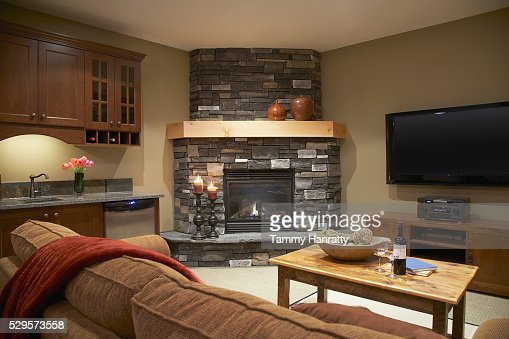 Living room : Stock-Foto