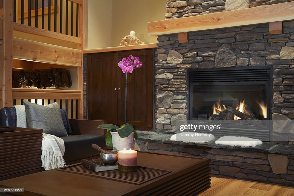 Living room : Foto stock