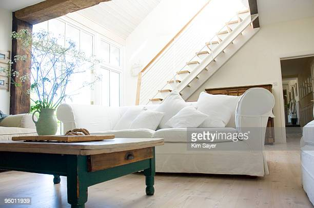 Living room showcase interior