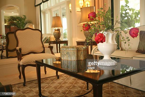 Living Room: Upscale Home Interior