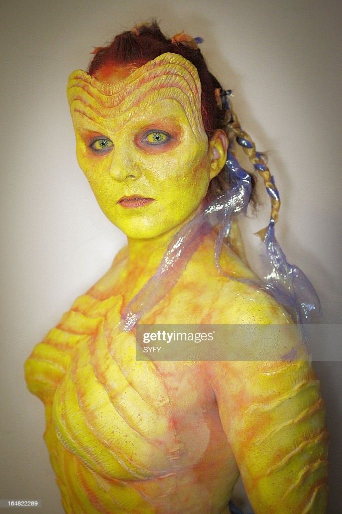 OFF -- 'Living the Dream' Episode 411 -- Pictured: makeup by Kris Kobzina --
