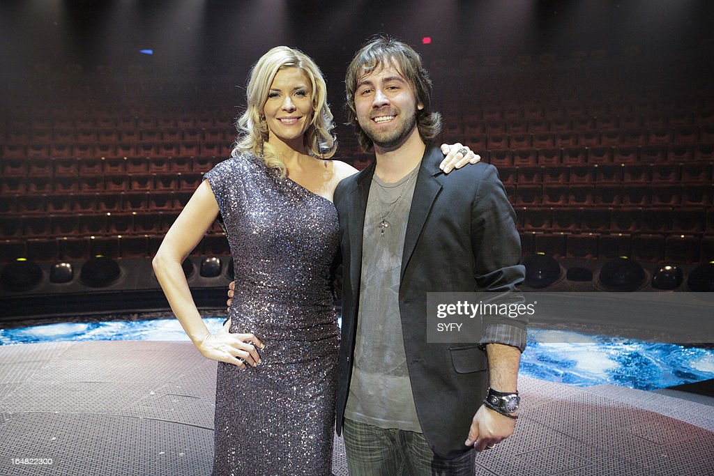 OFF -- 'Living the Dream' Episode 411 -- Pictured: (l to r) McKenzie Westmore, winner J. Anthony Kosar --
