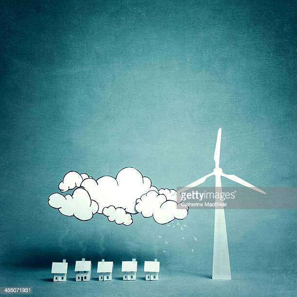 Living with a large wind turbine