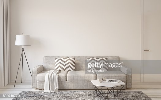 Living-room interior. 3d rendering. : Stock Photo