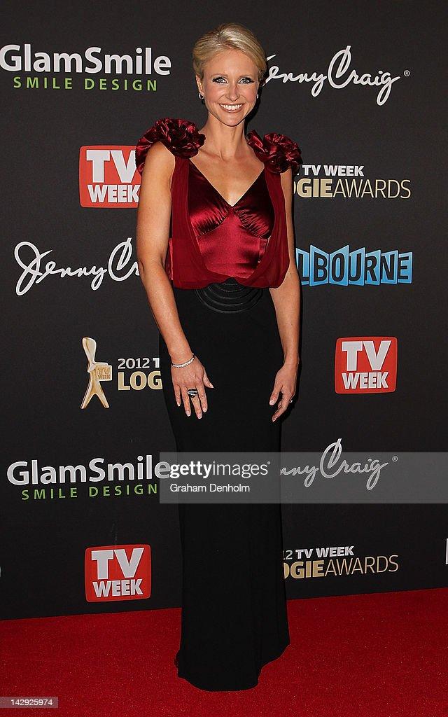 Livinia Nixon arrives at the 2012 Logie Awards at the Crown Palladium on April 15, 2012 in Melbourne, Australia.