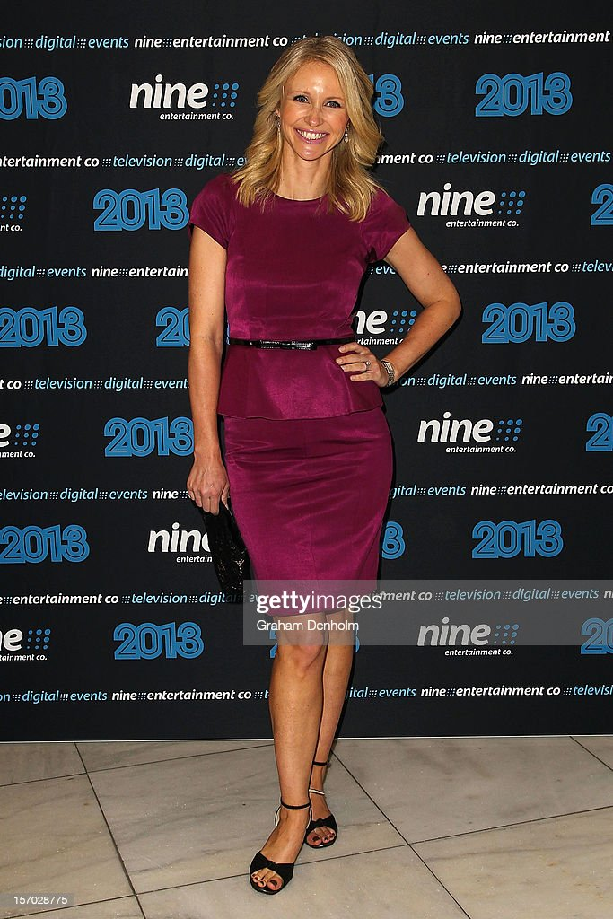 Livinia Nixon poses as she arrives at the Nine 2013 program launch at Myer on November 28, 2012 in Melbourne, Australia.