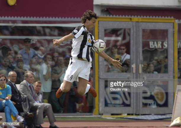 Zlatan Ibrahimovic of Juventus in action during the Serie A 37th round match between Livorno vs Juventus of Turin played at the Armando Picchi...