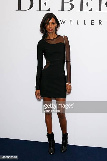 Liya Kebede attends De Beer's Moments in Light at Claridge's Hotel on September 18 2015 in London England