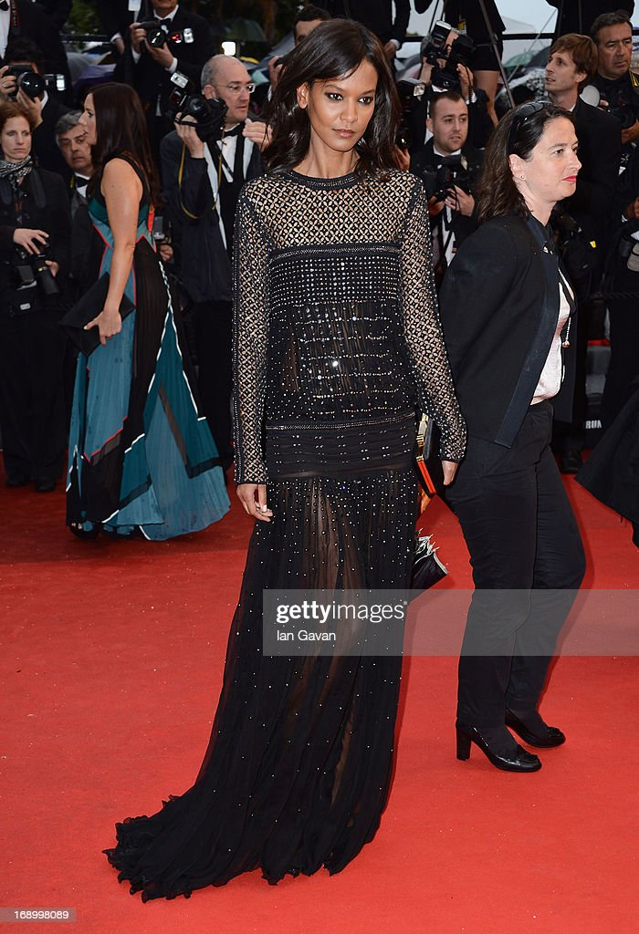 Liya Kebede attends 'Jimmy P. (Psychotherapy Of A Plains Indian)' Premiere during the 66th Annual Cannes Film Festival at Grand Theatre Lumiere on May 18, 2013 in Cannes, France.