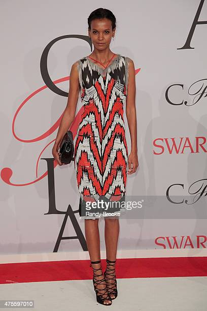 Liya Kebede attends the 2015 CFDA Fashion Awards at Alice Tully Hall at Lincoln Center on June 1 2015 in New York City