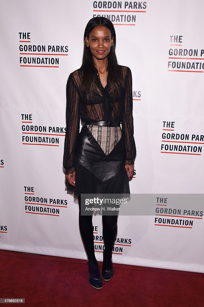 Liya Kebede attends the 2015 Gordon Parks Foundation Awards Dinner And Auction at Cipriani Wall Street on June 2 2015 in New York City