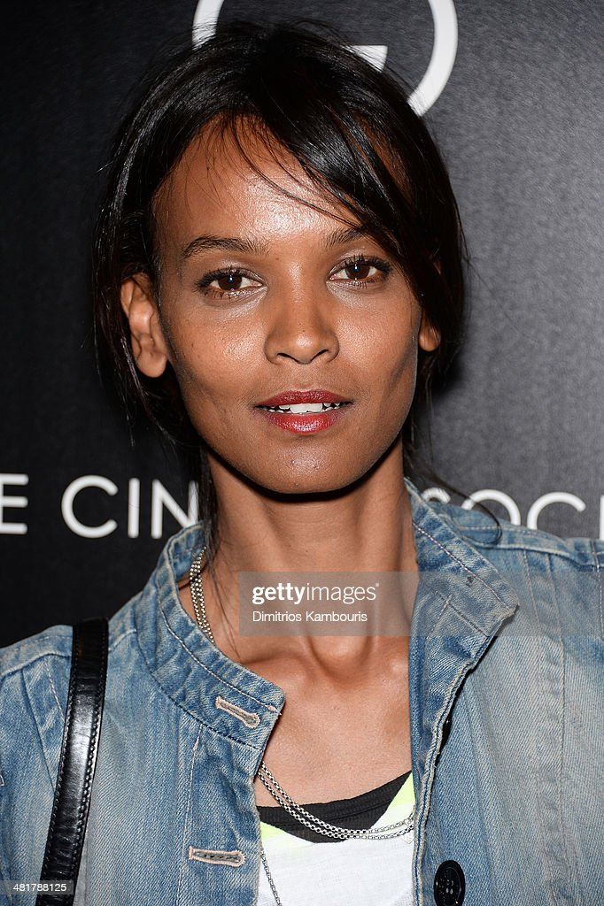 <a gi-track='captionPersonalityLinkClicked' href=/galleries/search?phrase=Liya+Kebede&family=editorial&specificpeople=220361 ng-click='$event.stopPropagation()'>Liya Kebede</a> attends The Cinema Society & Gucci Guilty screening of Marvel's 'Captain America: The Winter Soldier' at Tribeca Grand Hotel on March 31, 2014 in New York City.
