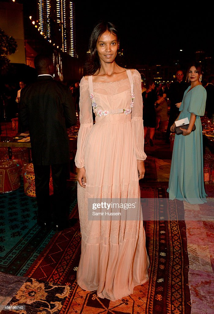Liya Kebede attends the Gala Event during the Vogue Fashion Dubai Experience on October 31, 2014 in Dubai, United Arab Emirates.