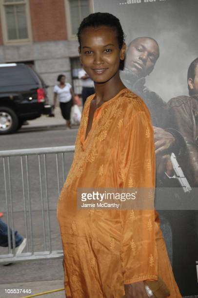 Liya Kebede during 'Four Brothers' New York City Premiere Inside Arrivals at Clearview's Chelsea West Cinemas in New York City New York United States
