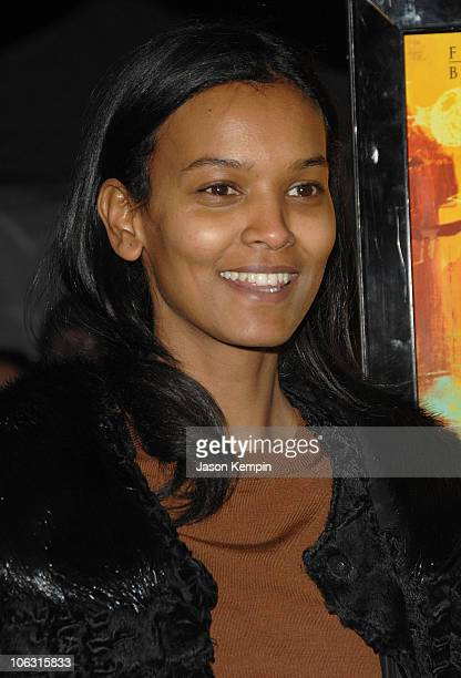 Liya Kebede during 'Namesake' New York City Premiere March 6 2007 at Chelsea West Cinemas in New York City New York United States