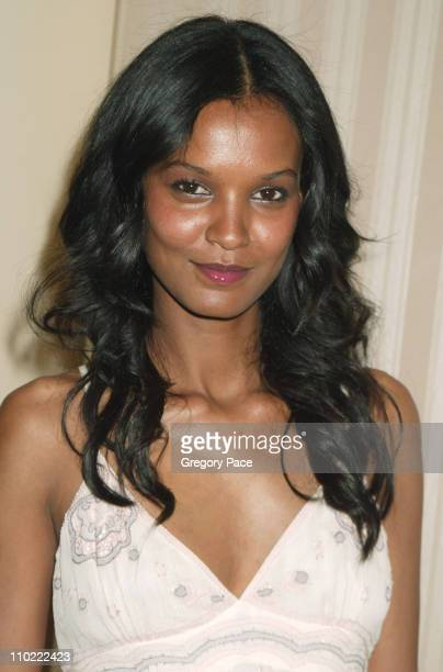 Liya Kebede during The Breast Cancer Research Foundation's Annual Red Hot Pink Party Arrivals at Waldorf Astoria in New York City New York United...