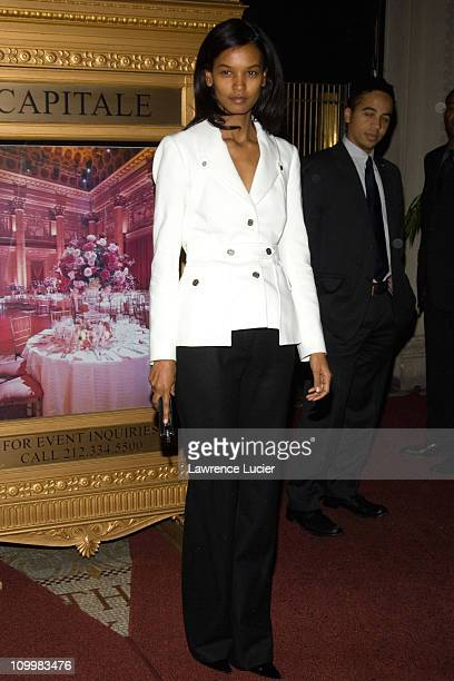 Liya Kebede during Worldwide Orphans Foundation Honors Christine Ebersole at Capitale in New York City New York United States
