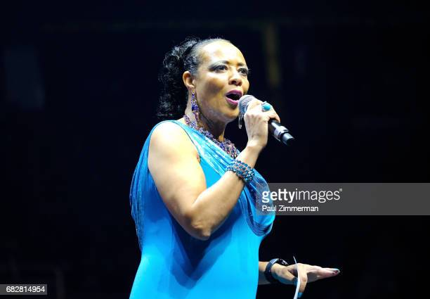 Liz Black speaks onstage during the 35th Anniversary Mother's Day Weekend Gospelfest 2017 at Prudential Center on May 13 2017 in Newark New Jersey