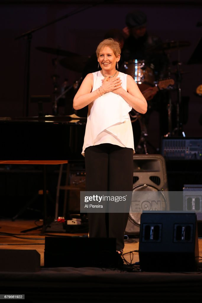 Liz Callaway performs during 'City Winery Presents A Celebration of the Music of Jimmy Webb' at Carnegie Hall on May 3, 2017 in New York City.
