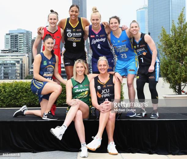 Liz Cambage Melbourne Boomers Suzy Batkovic Townsville Fire Kelsey Griffin Bendigo Spirit KatieRae Ebzery Sydney FlamesToni Farnworth Perth Lynx Abby...