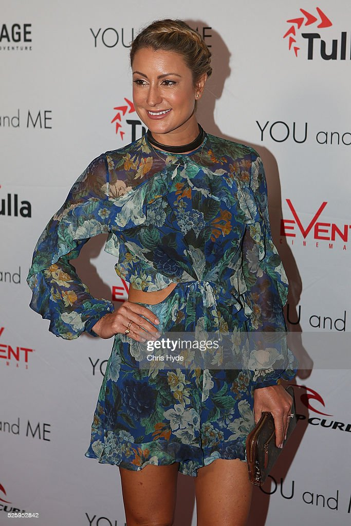 Liz Cantor arrives ahead of Gold Coast premiere of 'YOU and ME' at Event Cinemas Pacific Fair on April 29, 2016 in Gold Coast, Australia.