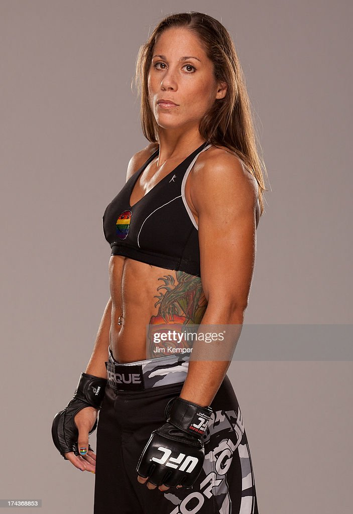 <a gi-track='captionPersonalityLinkClicked' href=/galleries/search?phrase=Liz+Carmouche&family=editorial&specificpeople=7139916 ng-click='$event.stopPropagation()'>Liz Carmouche</a> poses for a portrait at the Westin Seattle hotel on July 24, 2013 in Seattle, Washington.