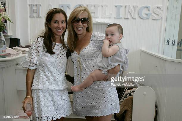 Liz Cohen Hausman and Jennifer Brown and daughter attend HATCHLINGS Spring 2008 'HATCH' Boys Collection hosted by ANNETTE LAUER CRISTINA CUOMO and...