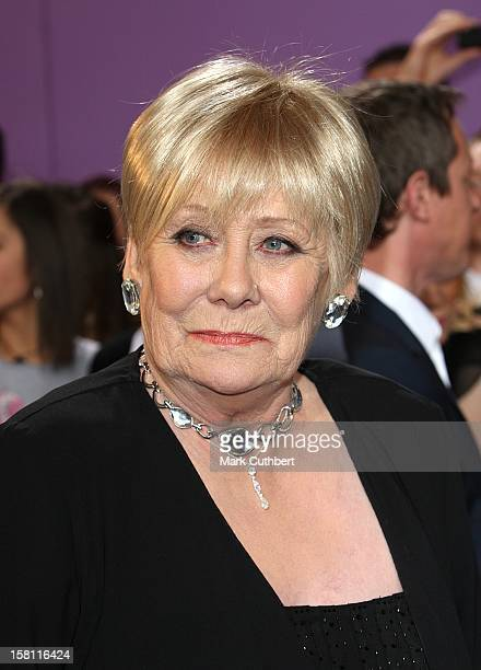 Liz Dawn Arrives For The British Soap Awards 2008 At Bbc Television Centre Wood Lane London W12