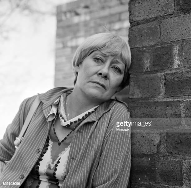 Liz Dawn Coronation Street star Vera Duckworth who now has no man in her life 22nd April 1982