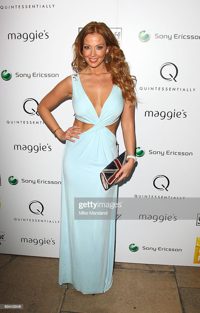 Liz Fuller attends the After party for the London Premiere of 'Nowhere Boy' hosted by Quintessentially at The House of St Barnabas on November 26...
