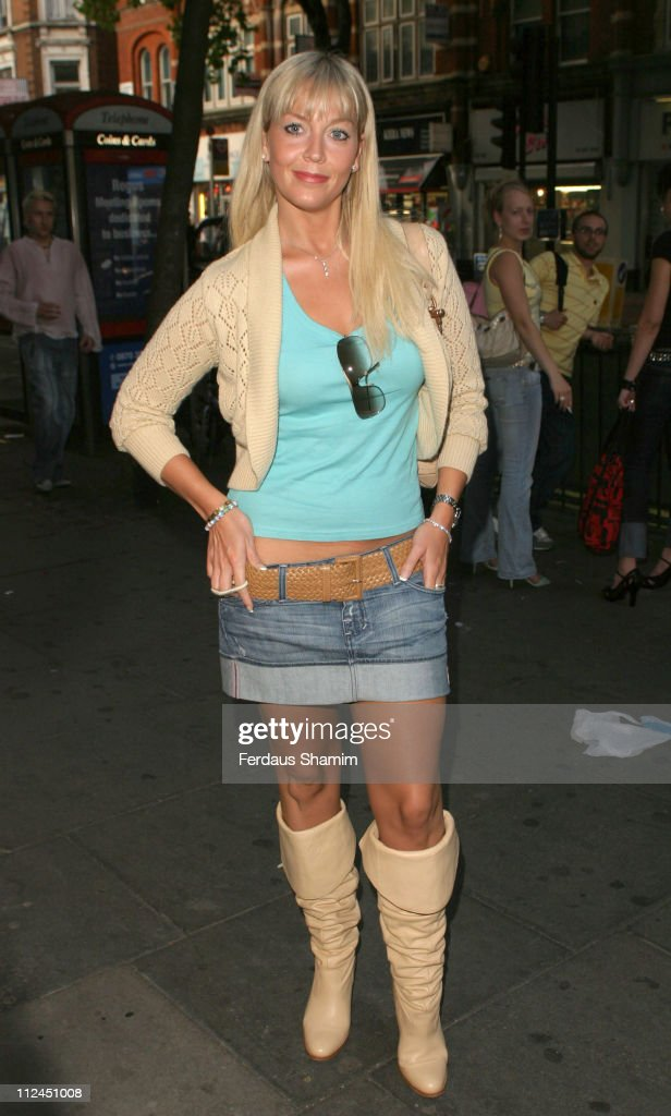 Liz Fuller during Charing X Gallery Opening Party at Charing Cross Road London in London Great Britain