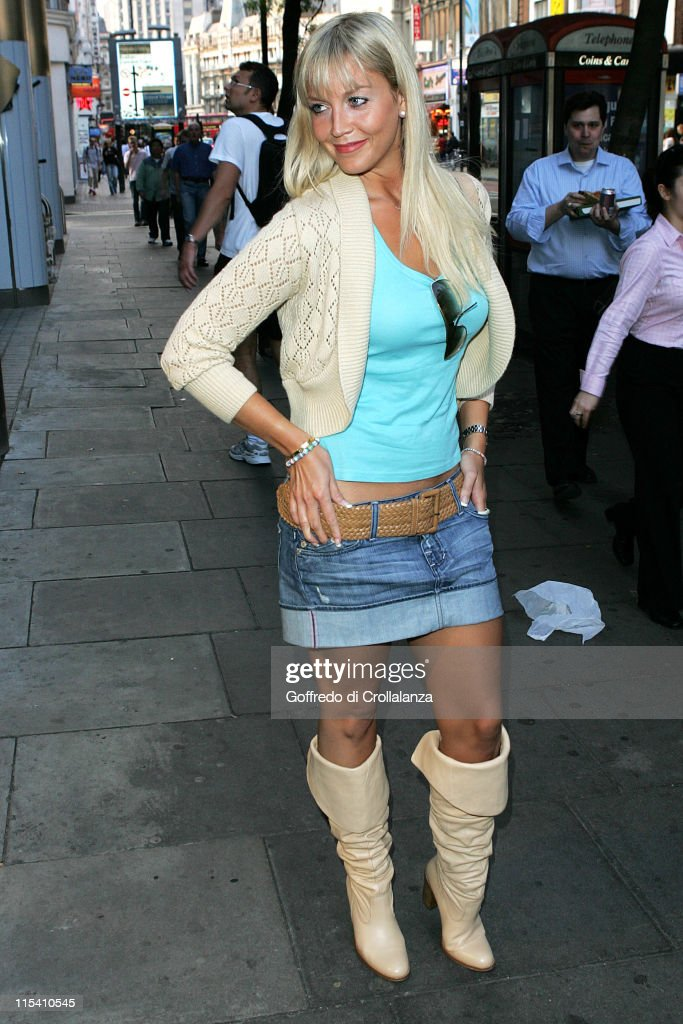 Liz Fuller during Charing X Gallery Opening Party at Charing X in London Great Britain