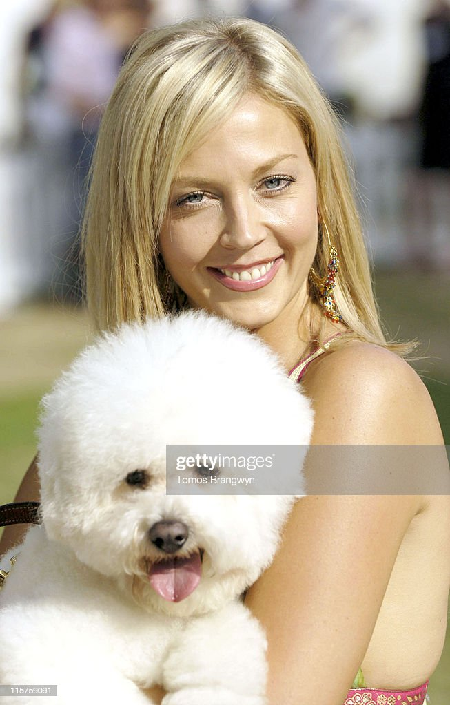 Liz Fuller during Macmillan Cancer Supports the 5th Macmillian Dog Day at Royal Hospital Chelsea in London Great Britain
