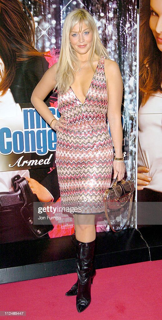 Liz Fuller during 'Miss Congeniality 2' London Premiere Inside Arrivals at Vue Leicester Square in London Great Britain